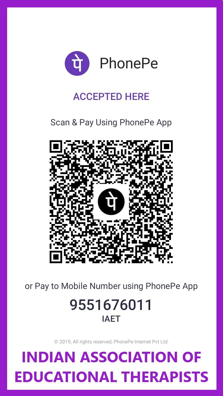IAET PhonePe QR Code - Mobile Phone No. 9551676011  and PhonePe UPI ID:  iaet@ybl